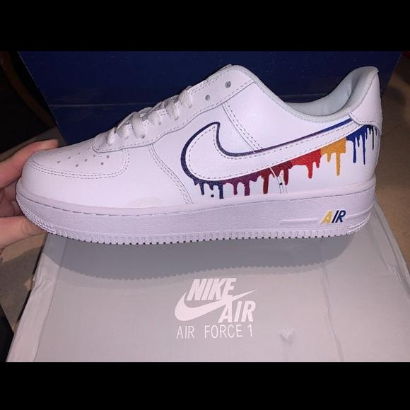 Nike Shoes | Nike Drip Custom Air Force